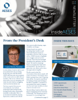 insideAESES April 2021 cover