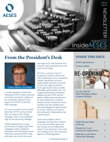 August 2021 insideAESES cover