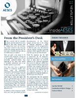 insideAESES October 2020 cover